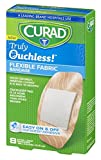 Curad Truly Ouchless Flex Fabric Bandages, X-Large, 8 Count (Pack of 4)