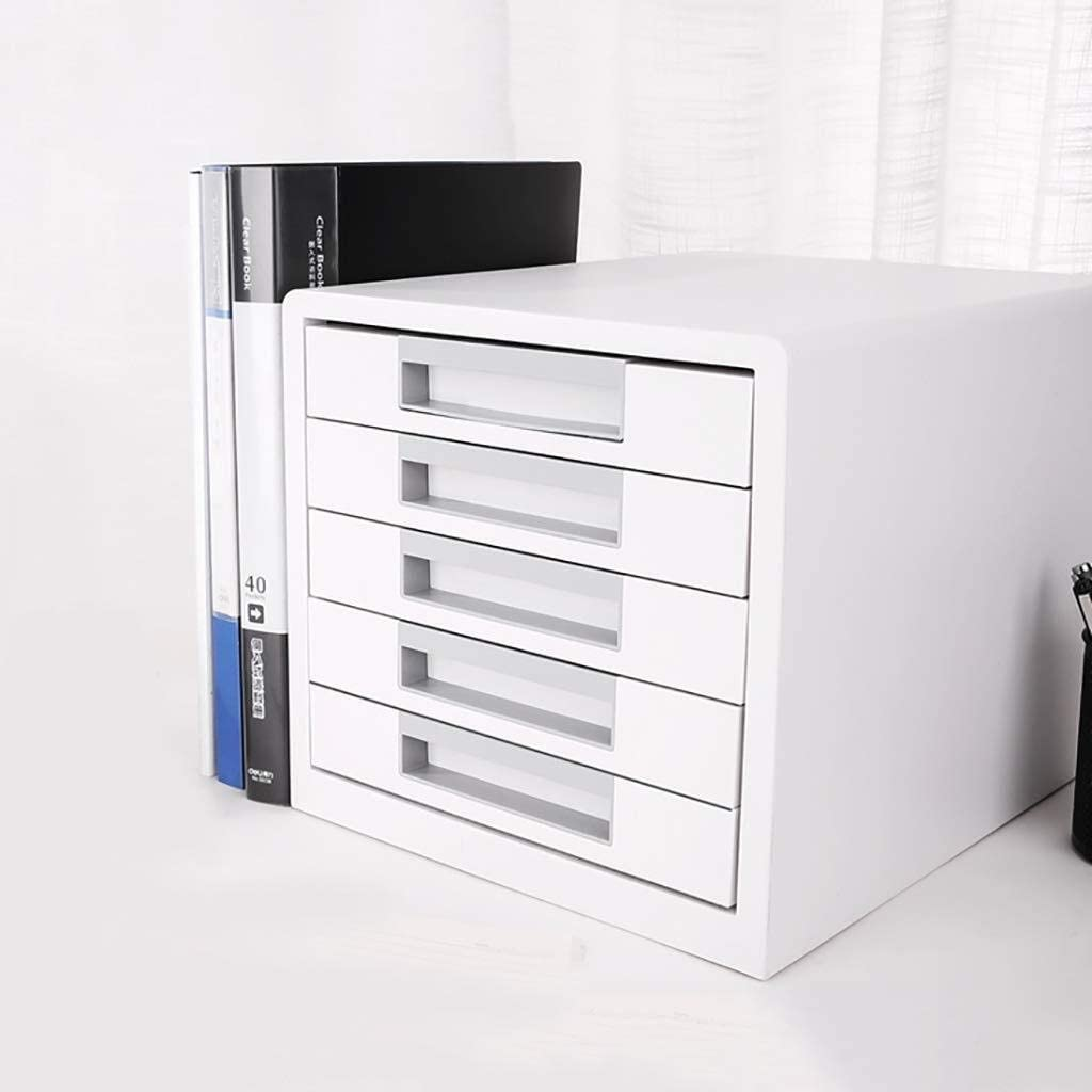 High Capacity Can Store A4 Files Office Supplies Color : 1 File cabinet Flat Flat File Cabinet Flat File Desktop Storage Box Furniture Archive Cabinet 4 Drawers Plastic with Drawer
