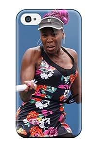 Durable Defender Case For Iphone 4/4s Tpu Cover(venus Williams Tennis )