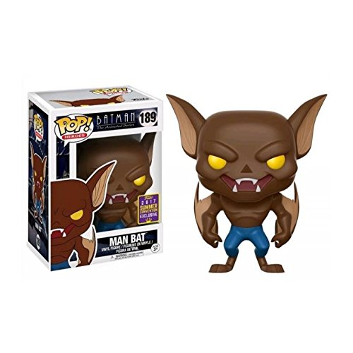 Funko Pop! SDCC 2017 Batman The Animated Series Man Bat, Limited Edition Summer Convention Exclusive