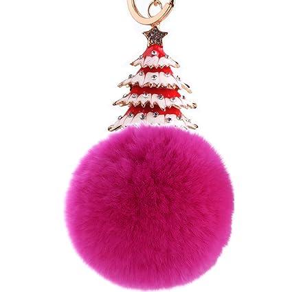 ISAAC ENGLAND Árbol de Navidad Creativo Bola de Pelo ...