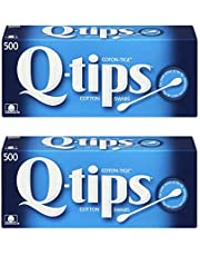Q-tips Cotton Swabs Original 500 Count (2 pack)