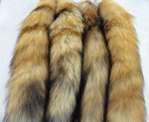 八家hot-selling Fox Tail ( Real天然フォックスファー)使用のバッグHangingまたはKeychains B00H2EEEEU