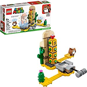 LEGO Super Mario Desert Pokey Expansion Set 71363 Building Kit; Toy for Creative Kids to Combine with The Super Mario…