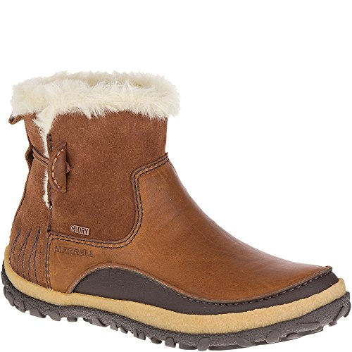 Merrell Women's Tremblant Pull on Polar Waterproof Snow Boot, Merrell Oak, 8.5 M US (Merrell Women Boots Winter)