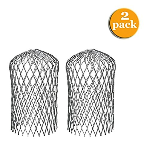"""AMERIMAX HOME PRODUCTS 21059 3"""" Expand Aluminum Strainer ( 2 Pack)"""