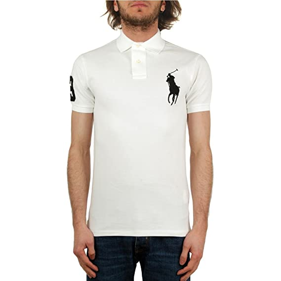 Polo Ralph Lauren Polo in Piquet Slim-Fit Uomo Mod. 710688970 ...