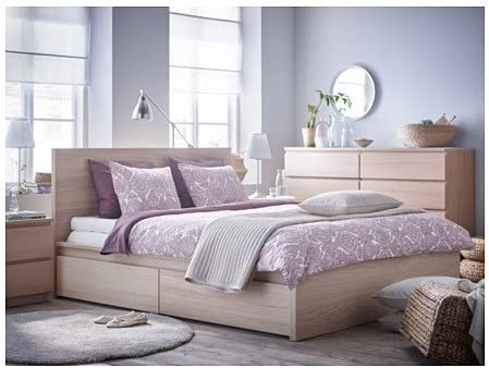 Ikea King Size 14386.231714.88 - Marco de cama (madera de ...