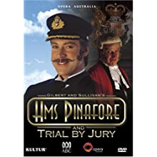 Gilbert & Sullivan - H.M.S. Pinafore / Trial By Jury - David Hobson, Anthony Warlow, Colette Mann, Tiffany Speight, John Bolton Wood, Richard Alexander, Opera Australia, State Theatre, The Arts Centre Melbourne (2008)