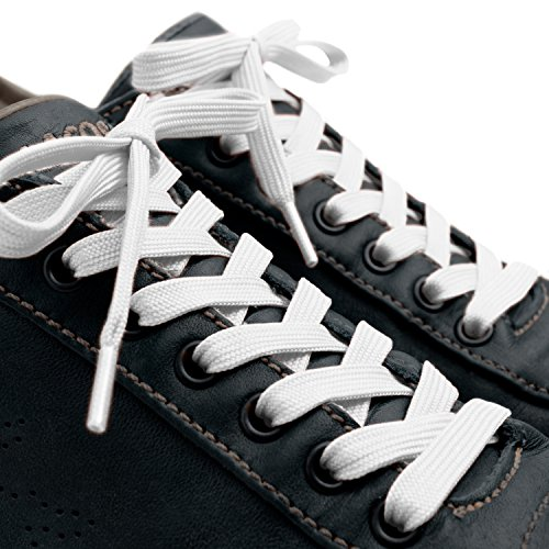 Buy white flat shoe laces