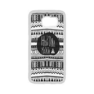 FOR Samsung Galaxy S6 -(DXJ PHONE CASE)-Quotes Hakuna Matata- No Worries -The Lion King-PATTERN 10