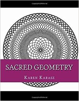 sacred geometry coloring book karen karasz alex karasz 9781523859924 amazoncom books - Sacred Geometry Coloring Book