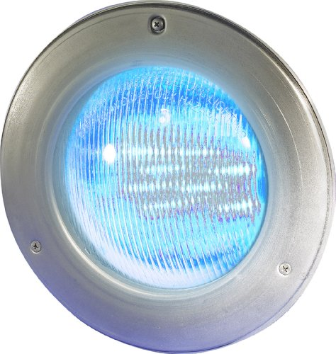 Colorlogic Light Hayward Pool - Hayward SP0527SLED50 ColorLogic 4.0 LED Pool Light, 120-Volt, Stainless Steel Face Rim, 50-Foot Cord