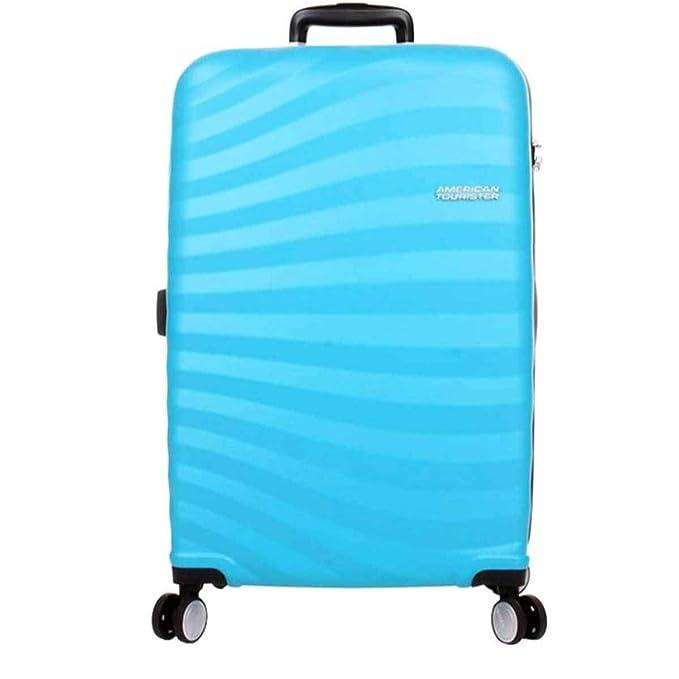 American Tourister - Juego de Maletas Unisex Adulto Azul Spring Blue M: Amazon.es: Equipaje