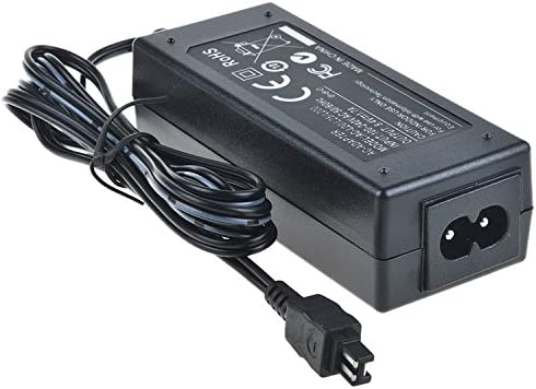 SLLEA AC Wall Battery Power Charger Adapter for Sony Camcorder DCR-SR38 E DCR-SR40 E