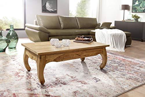 Mesa de Centro PIUM Mesa de salon de Acacia de Madera Maciza Naturaleza Producto pais Estilo Country Table HxWxD: 40x110x60cm