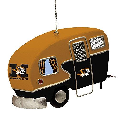 Team Sports America Metal Missouri Tigers Camper Ornament