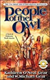 Front cover for the book People of the Owl by Kathleen O'Neal Gear