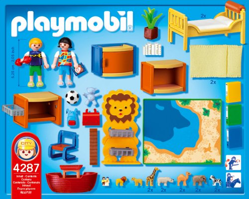 4287 chambre des enfants de playmobil for Playmobil kinderzimmer 4287