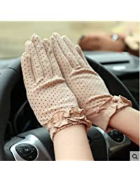 Summer Woman Sunscreen Driving Gloves Antiskid UV protection Lace gloves