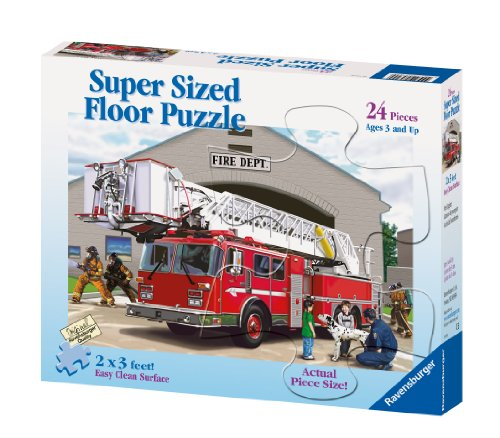 Ravensburger Fire Engine - 24 Piece Floor Puzzle