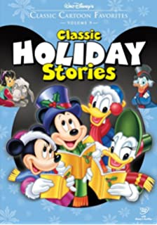 classic cartoon favorites vol 9 classic holiday stories the small one - Mickeys Christmas Carol Dvd