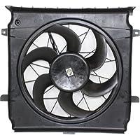 MAPM Premium LIBERTY 02-04 RADIATOR FAN SHROUD ASSEMBLY, Single Fan, 2.4L (=3.7L 02-03), w/o Towing Package