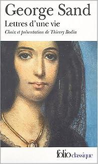 Lettres d'une vie par George Sand