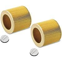 Patronenfilter Patronen für Nass-/ Trockensauger Nasssauger / Mehrzwecksauger / Waschsauger Kärcher A 2204 2254 2101 2201 WD2 WD3 MV2 MV3 WD2.200 WD3.500 P WD 3.200, WD 3.300 M wie 6.414-552.0