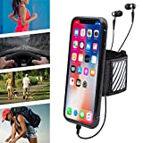 WANPOOL Sport Armband for iPhone X - Open-Face Armband/Wristband Holder, Includes Standard Strap To Fit 11''-20'' Arm Circumferences & Extra Small Strap To Fit 7''-12''