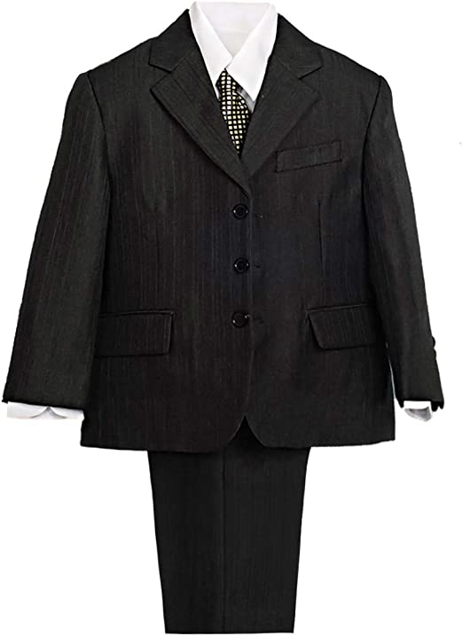 Suit For Kids With Stripes Formal Wear Special Events Wedding Party Package Set