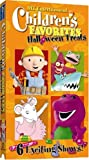 Childrens Favorites: Halloween Treats [VHS]