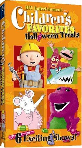 Children's Favorites: Halloween Treats [VHS]