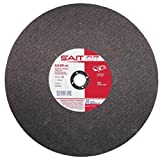 United Abrasives 14'' X 1/8'' X 1'' A24R 24 Grit Aluminum Oxide Type 1 Cut Off Wheel, Package Size: 10 Each