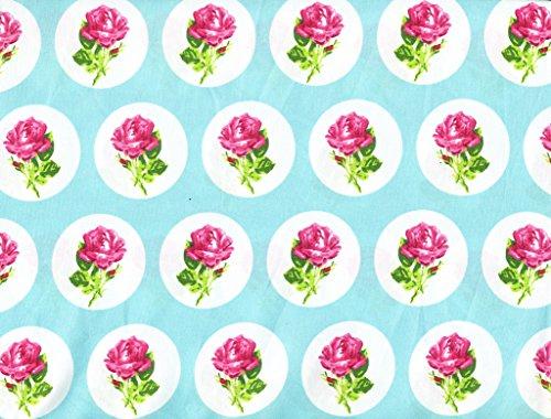 Betsey Johnson Lily (Betsey Johnson Flower Dot 4 Piece Queen Sheet Set- Rose)
