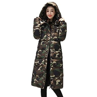 c6186a0fdea Image Unavailable. Image not available for. Color  GONKOMA Clearance Women s  Winter Warm Print Coat ...