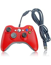 Xbox 360 Game Controller USB Wired Gamepad Game Joystick Joypad for Microsoft & Windows PC