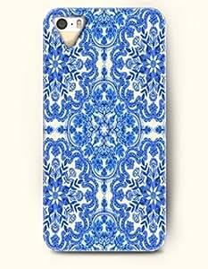 SevenArc Apple iPhone 4 4S Case Moroccan Pattern ( Royal Blue Flowers )