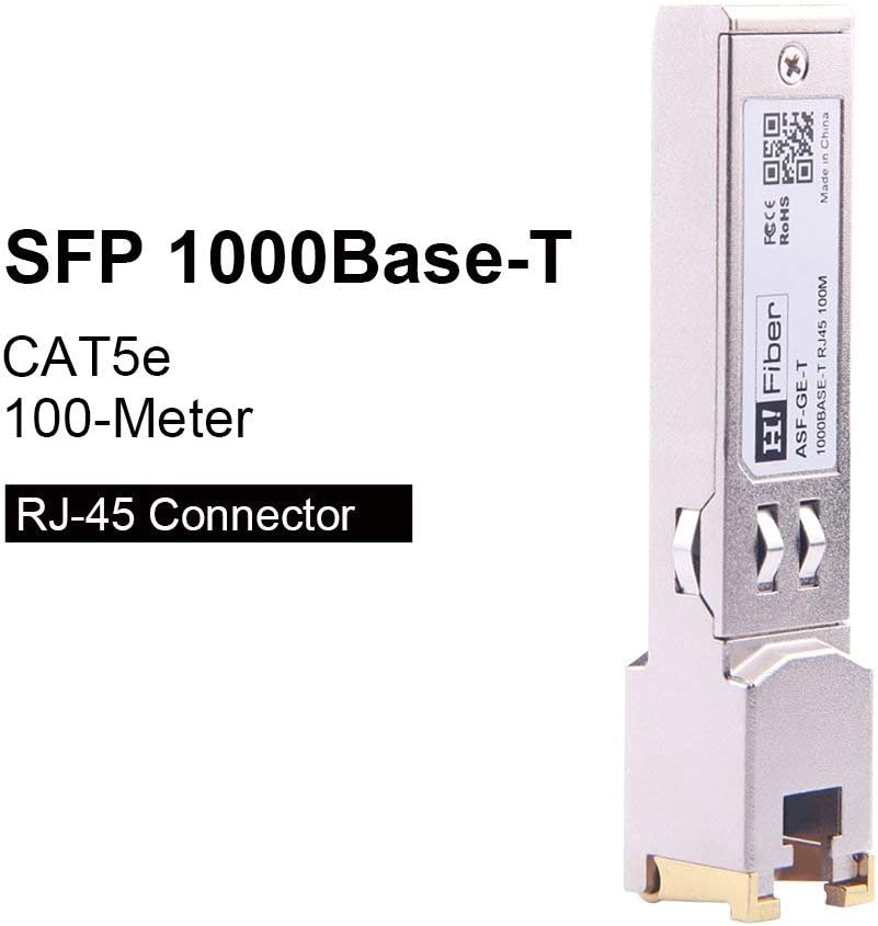 CAT5E Copper RJ45 100M GLC-T-TP for Cisco,1000Base-T SFP Optic Fiber Module