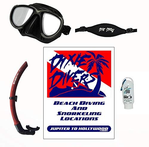 - DXDiver Snorkeling Kit- Sopras Apnea Freediving Mask & Snorkel Mask Strap 500 PSI Defog