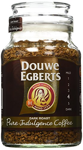 - Douwe Egberts Pure Indulgence Instant Coffee, Dark Roast, 6.7-Ounce, 190g (Pack of 2)