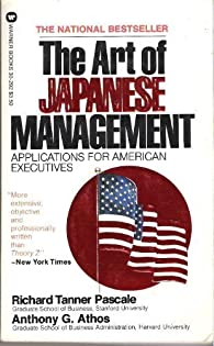 The Art of Japanese Management: Applications for American Executives par  Richard Tanner Pascale