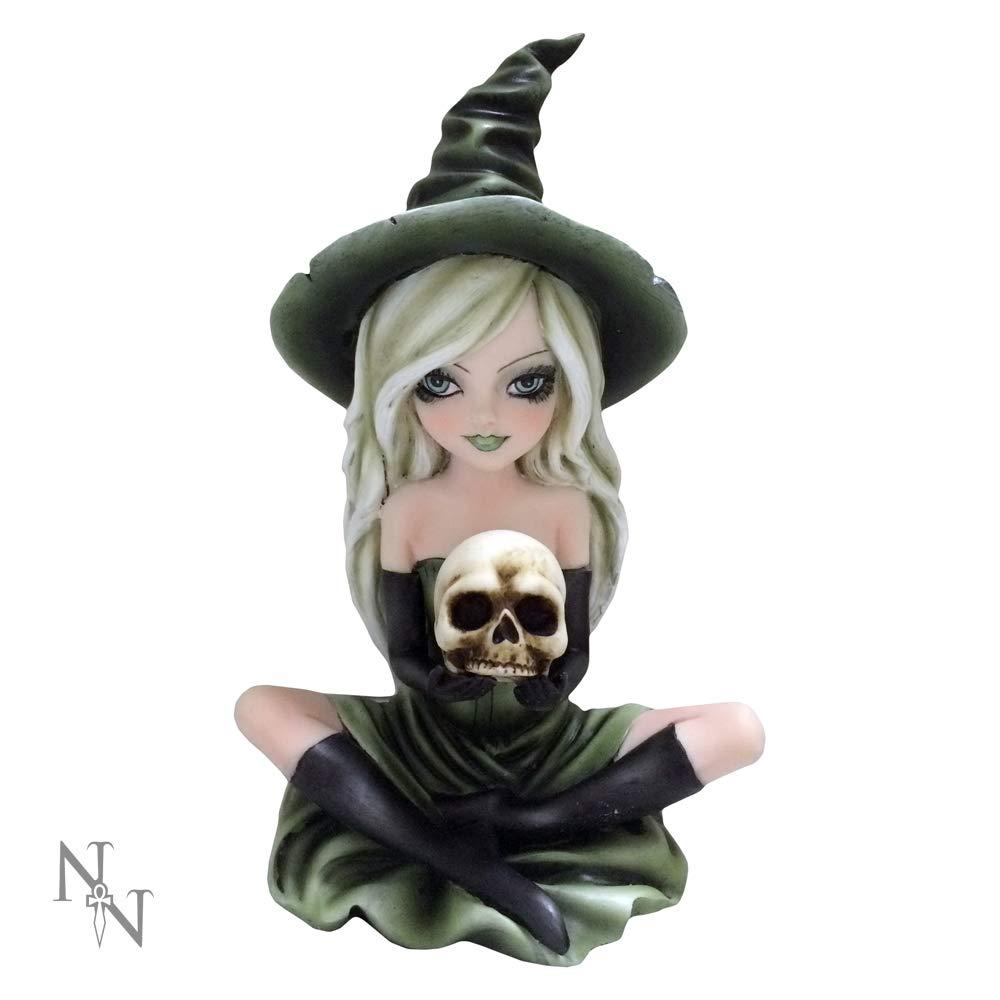 Magic Zelda bruja verde /& Skull figura por Nemesis Now.