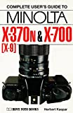 Minolta X-300s and X-700: North America only, X-370n (X-9) and X-700