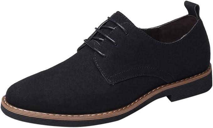 Amazon.com: Zapatos para hombre -【MOHOLL】 Zapatos de ...