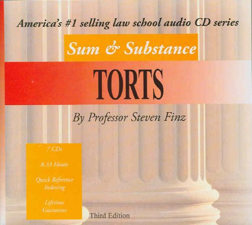 Sum & Substance Audio on Torts