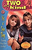 img - for It's a Twin Thing (Two of a Kind, No. 1) book / textbook / text book