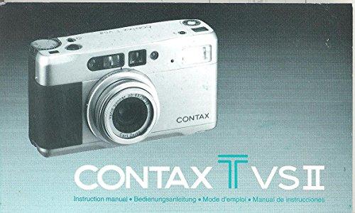 Tv Contax - Contax Tvs II Original Instruction Manual (35mm)