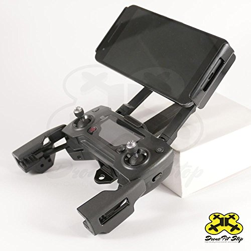 Drone Pit Stop Tablet Holder Adapter for DJI Mavic and Spark Transmitter | Support 11.5 cm - 18.6 cm Tablets and Phones