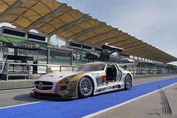 Amazon.com: Mercedes SLS AMG BBS ruedas lado izquierdo HD ...